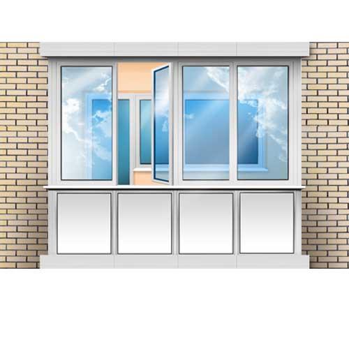 Балконы / лоджии окна пвх.